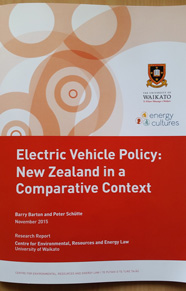 Electric Vehicle Policy: New Zealand in a Comparative Context